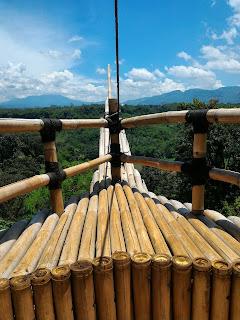 Pemandangan dari Pokland 7 Cluster Tempat Wisata di Cianjur