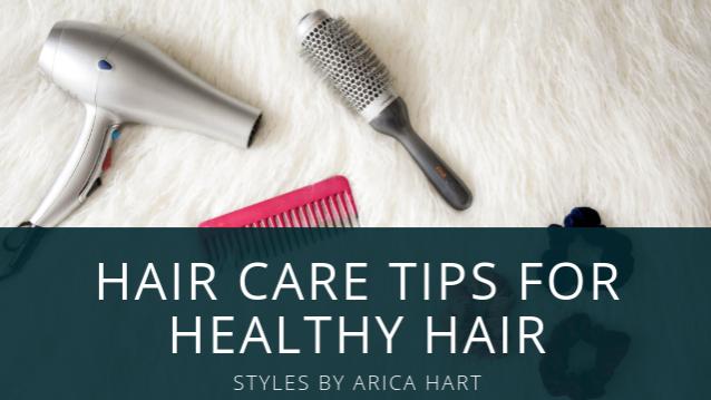 6 Hair care tips for healthy hair