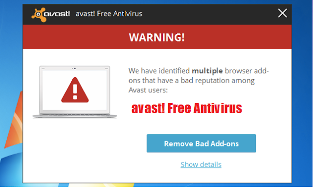 يكتشف Avast ملايين المستخدمين المصابين ببرامج ضارة