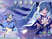 Snow Miku Theme Win 10 Ver. 1803 by Enji Riz Lazuardi