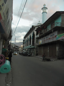 Shia Mosque in Kargil Town.
