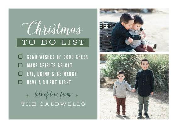 To Do List Christmas Card | Basic Invite
