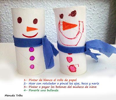 manualidades navidad para niños  menuda tribu