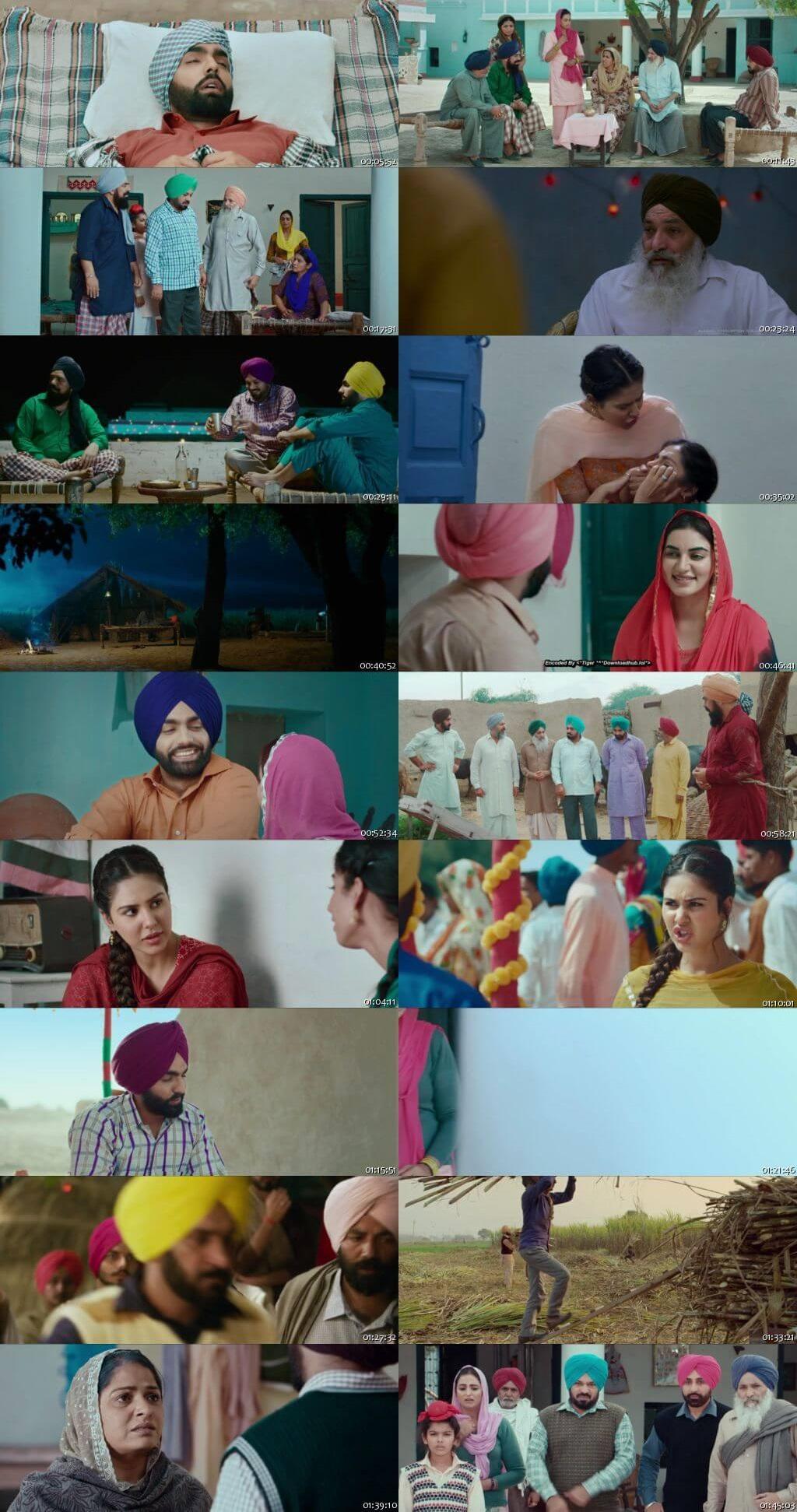Screen Shot Of Muklawa 2019 300MB HDRip 480P Full Punjabi Movie Watch Online Free Download