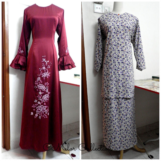 dress, baju kurung