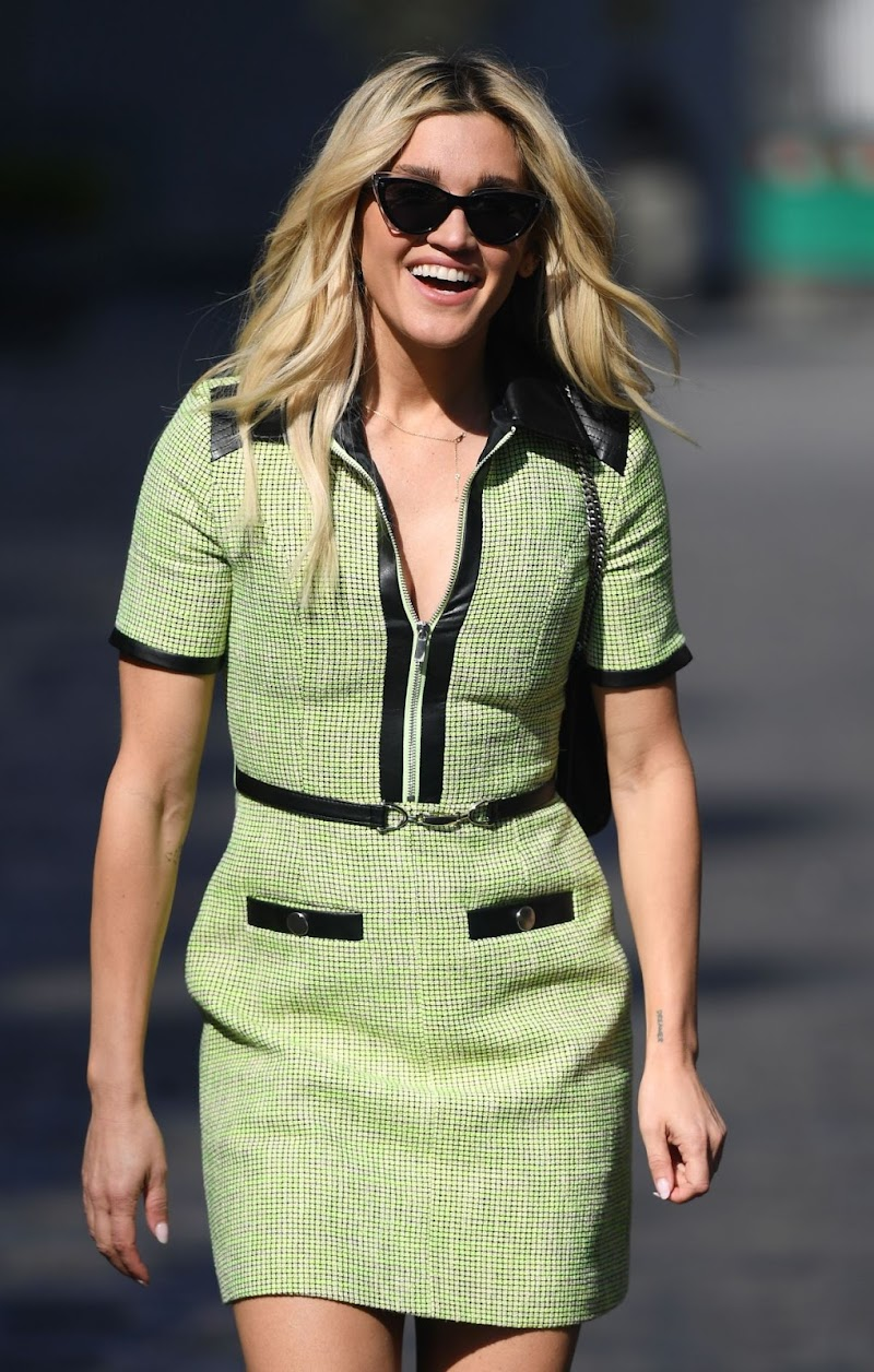 Ashley Roberts Spotted At Global Studios in London 19 Apr-2021