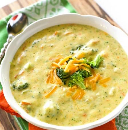 Panera's Broccoli Cheddar Soup