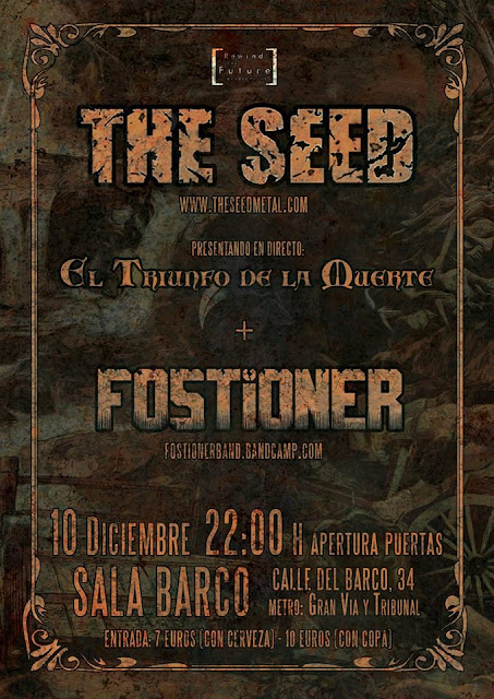 Ruido noise the seed fostioner sala barco madrid for Sala hollander