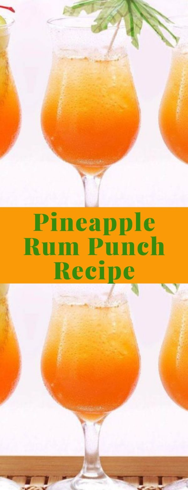 Pineapple Rum Punch Recipe
