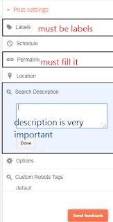 SEO Blogspot off-page optimization on-page optimization free blog website