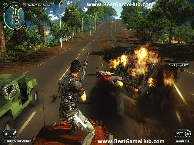 Just Cause 2 free download with crack - bestgamehub,com