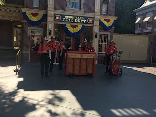 Disneyland Firehouse with Hook and Ladder Co.