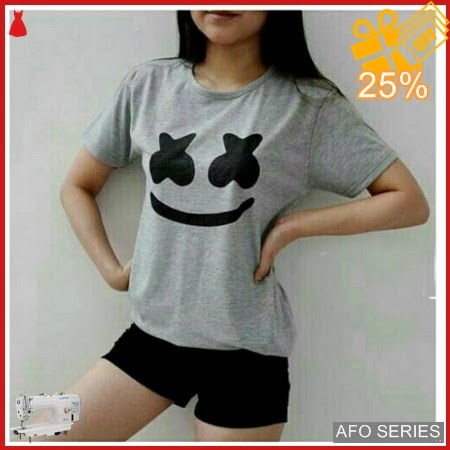 AFO298 Model Fashion Marshmello Tee Modis Murah BMGShop