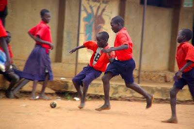 futbol, afrika, top, çocuk