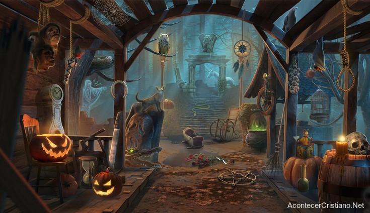 Halloween oscuridad espiritual