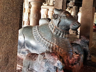 Nandi at Bhoga Nandeeshwara Temple