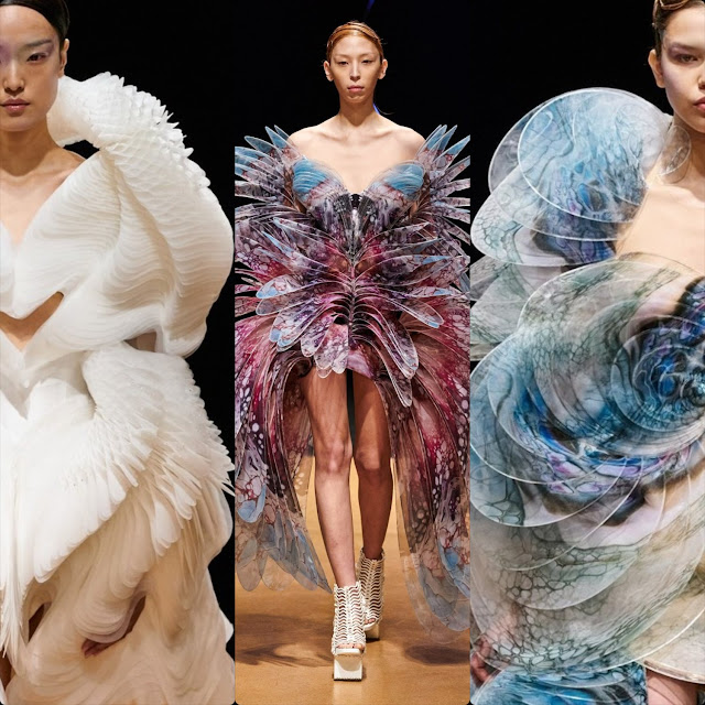 Iris van Herpen Haute Couture Spring Summer 2020 Paris. RUNWAY MAGAZINE ® Collections