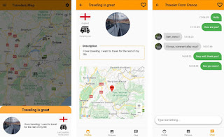 Travelers Map: how to meet other travellers easily