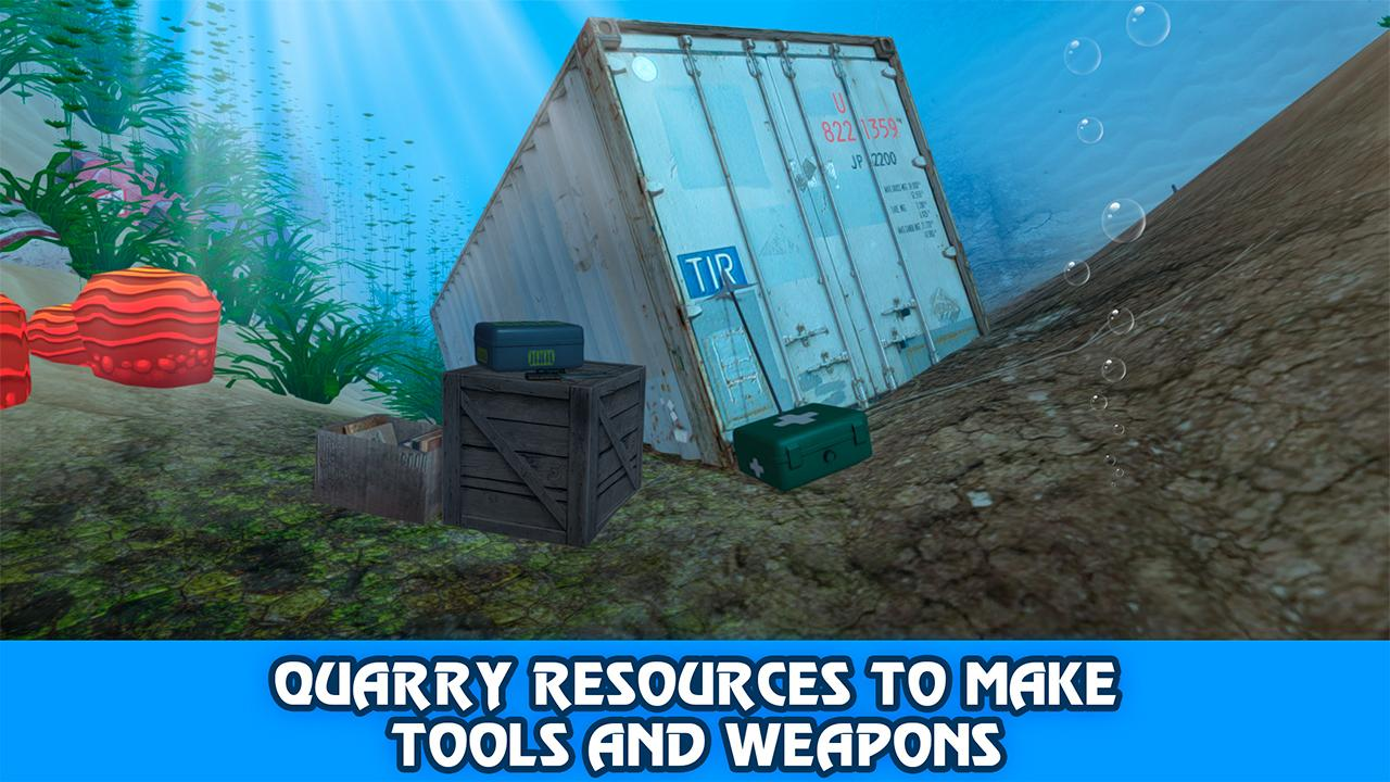Underwater Survival Sim 2 MOD APK terbaru