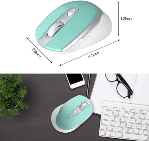 Review Cntorich Slim Multifunctional Wireless Mouse