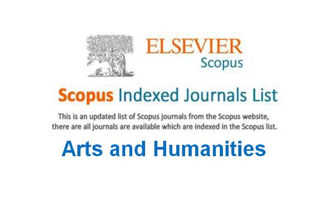 Arts and Humanities Scopus Indexed Journals