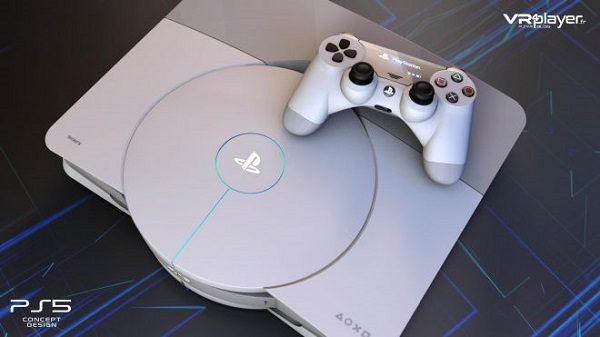 شاهد بالفيديو هذا التصميم الجديد لجهاز PS5 و مواصفات تقنية رهيبة ، لنشاهد..