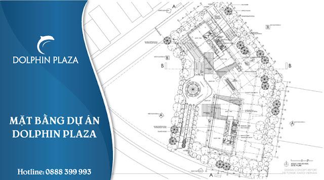 mặt bằng dự án  Dolphin Plaza