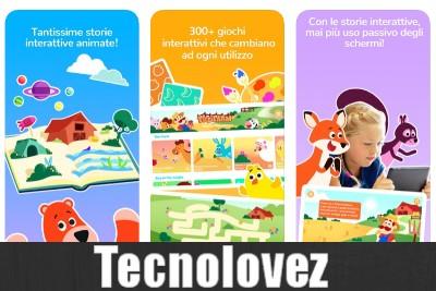 Smart Tales - Applicazione con libri interattivi e animati per bambini