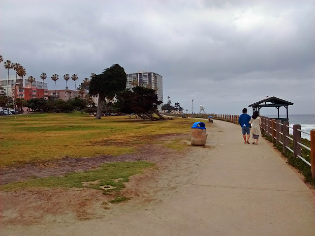 Coast Walk Trail, Scripps Park, La Jolla Cove