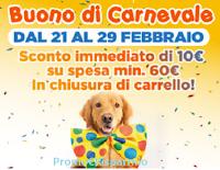 Logo Isola dei Tesori ''Buono di Carnevale'': come ricevere subito un buono sconto da 10 euro