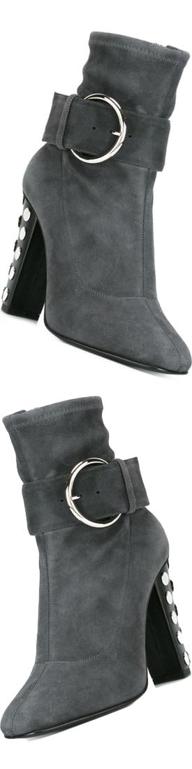 GIUSEPPE ZANOTTI DESIGN Embellished Heel Boots