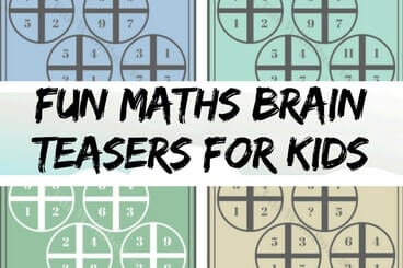 Fun Maths Brain Teasers for Kids with Answers with Explanation