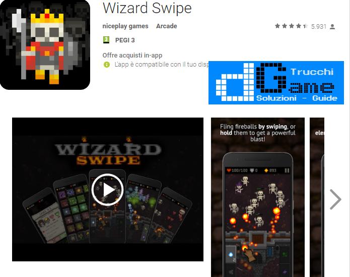 Trucchi Wizard Swipe Mod Apk Android v1.1.0