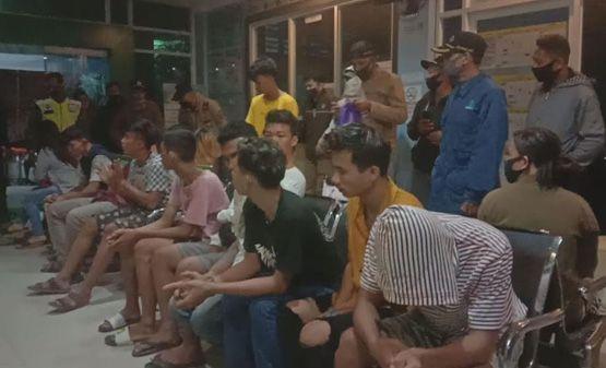 Puluhan Pasangan Diduga Mesum Diamankan Petugas Pada Razia Pekat Kota Jambi