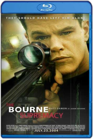 La supremacía Bourne (2004) HD 1080p Latino