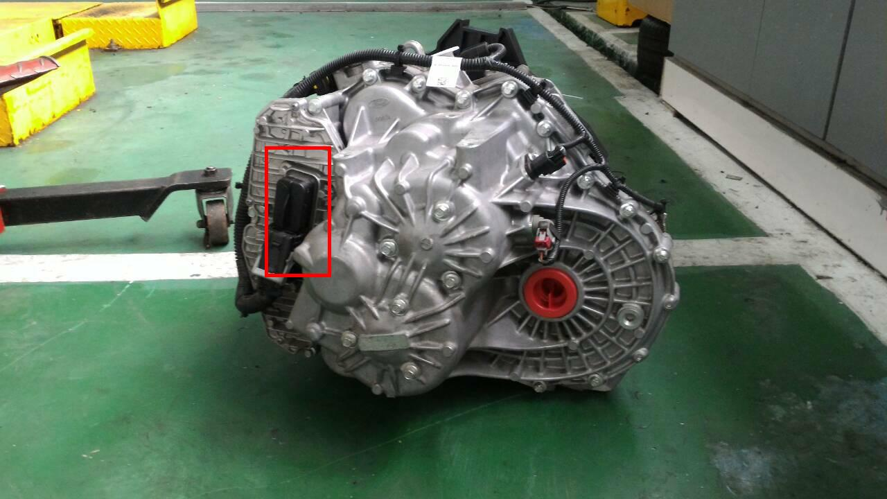 This Is The Gear Box Of Ford Focus Mk3 Which Dry Dual Clutch Transmission Dct And Highlighted Red Control Module