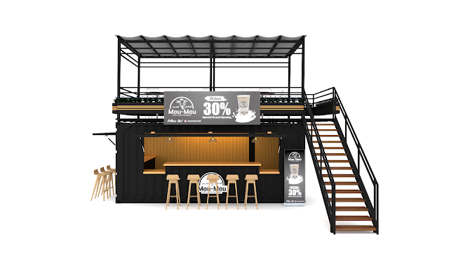 Desain Booth Container
