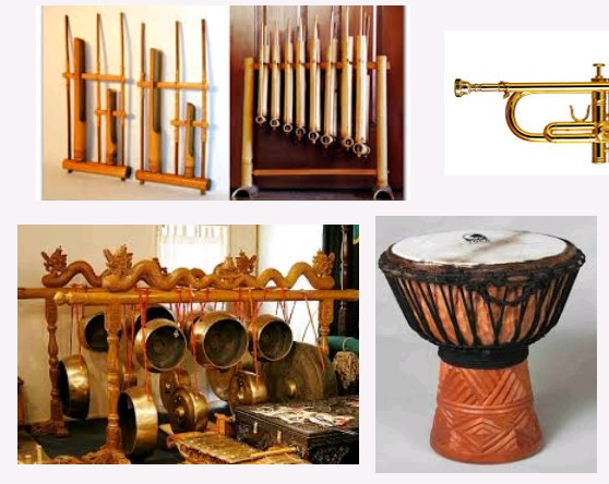 Gambar-gambar alat musik Melodis dan Cara Memainkannya