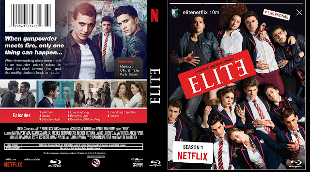Elite Season 1 DVD Cover