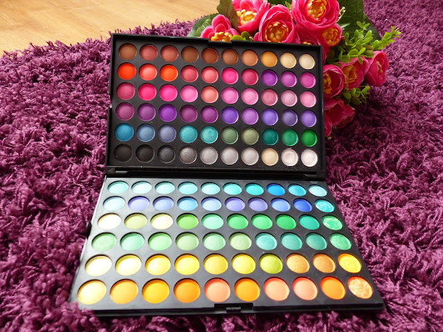 Paleta cieni Rainbow Eyes P120#1