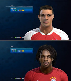 Faces: Granit xhaka, Renato Sanchez, 2016 Pes 2013