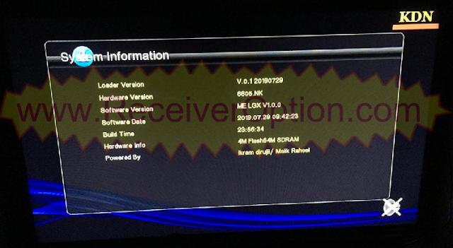 MM1GX6605S_WJX_V2.3 BOARD TYPE HD RECEIVERS TEN SPORTS OK NEW SOFTWARE