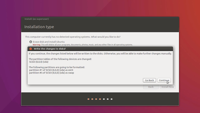 Default cum mandatory File System Of Linux | Installation of Ubuntu