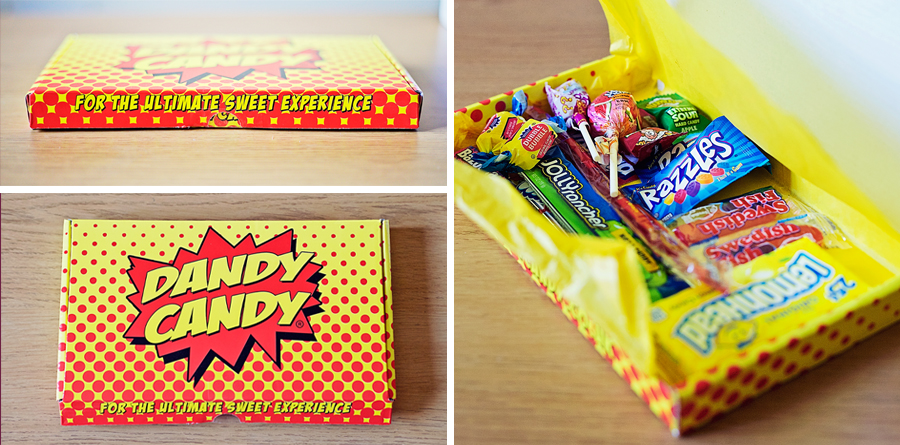 Dandy Candy American Candy Letterbox Parcel