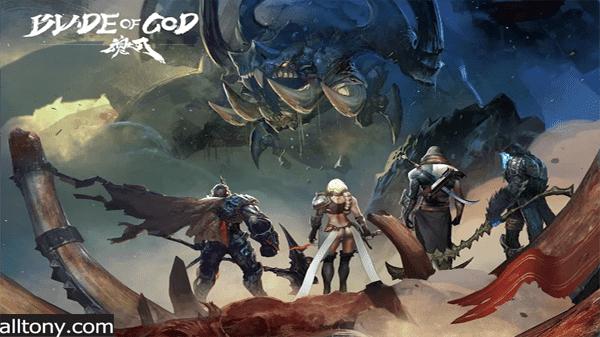 تحميل لعبة Blade of God - Vargr Souls  للأيفون والأندرويد APK