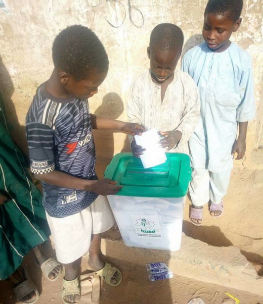 Underage-children-voting-in-Kano-Nigeria