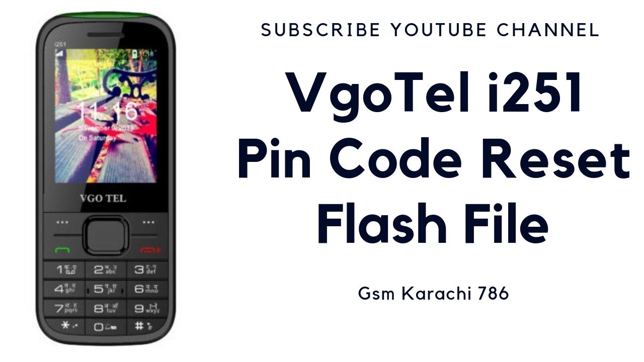 VgoTel i251 Flash File
