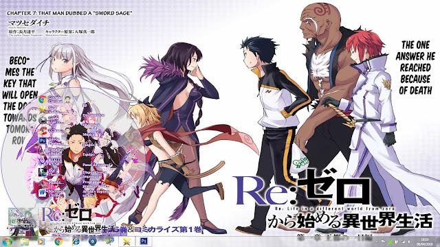 Win 7 Theme Re:Zero kara Hajimeru Isekai Seikatsu 1