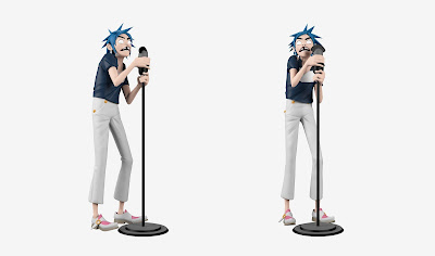 Gorillaz 2D Vinyl Art Figure by Superplastic
