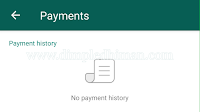 Whatsapp New Features - Payment Method